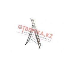 Алюминиевая лестница Алюмет 3х6, Н=3,4/4,4м (5306) в Алматы