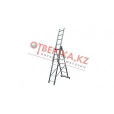 Алюминиевая лестница Алюмет 3х7, Н=3,9/4,9м (5307) в Алматы