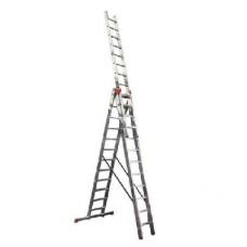 Алюминиевая лестница Алюмет 3х14, Н=9,54/10,54м в Алматы