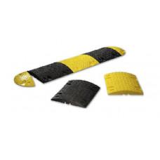 Лежачий полицейский 50х43х5см, желтый, черный 9013 в Алматы