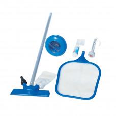 Набор для чистки бассейна Bestway 58195 (сачок, щетка, дозатор, термометр, тест-полоски, ремкомплект в Алматы