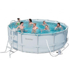 Каркасный бассейн Bestway 56263 (427x122см) в Алматы
