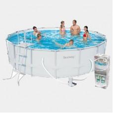 Каркасный бассейн Bestway 56451 (56266) (488x122см) в Алматы