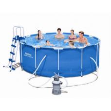 Каркасный бассейн STEEL PRO FRAME 56414 (56259) 366x122cm в Алматы