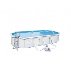 Стальной бассейн Hydrium Oval Pool Set 56604 740x360x120cm в Алматы