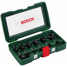 Набор Bosch фрез по дереву 12шт в Алматы