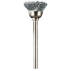 Щётка Dremel из углеродистой стали 13 мм (442)