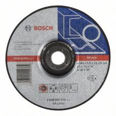Обдирочный круг, выпуклый Bosch 180 x 6,0 mm 2608600315 в Алматы