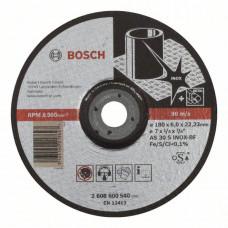 Обдирочный круг, выпуклый Bosch 180 x 6,0 mm 2608600540 в Алматы