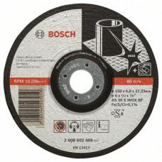 Обдирочный круг, выпуклый Bosch 150 x 6,0 mm 2608602489 в Алматы