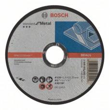 Отрезной диск прямой Bosch 125 x 22,23 x 1,6 mm 2608603165 в Алматы