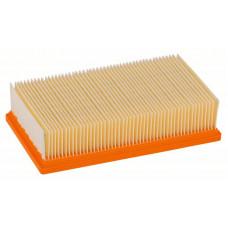 Плоский складчатый фильтр Bosch из целлюлозы для GAS 35-55 2607432033 в Алматы