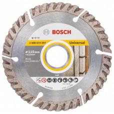 Алмазный отрезной круг Bosch 115x22,23 115x22.23x2x10 2608615057 в Алматы