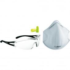 Набор 1- Защитные очки, маска, беруши в Алматы