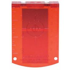 Bosch мишень (цвет красный) Professional в Актау