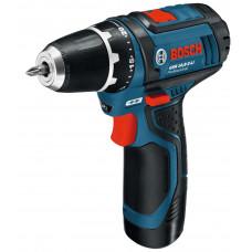 Дрель аккумуляторная Bosch GSR 10,8-2-LI 0601868109 в Алматы