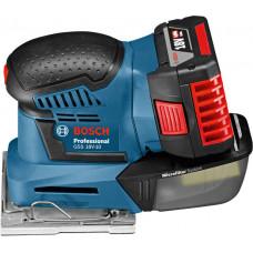 Машинка шлифовальная плоская (вибрационная) Bosch GSS 18V-10 Professional в Алматы