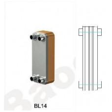 Теплообменник паяный Ditreex BL14-20D/2 (двухстороннее подключение) в Алматы