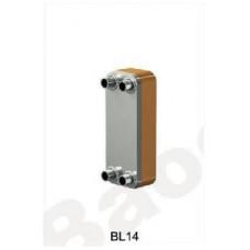 Теплообменник паяный Ditreex BL14-40D/1 (фронтальное подключение) в Алматы