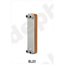 Теплообменник паяный Ditreex BL20-30D/1 (фронтальное подключение) в Алматы