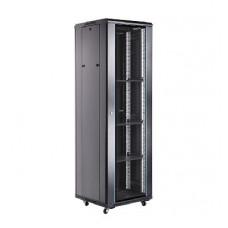 """Server case Toten A26642.8101 Шкаф 19"""" 42U,600*600*2055 черный (стекло, блок вентиляторов) в Алматы"""
