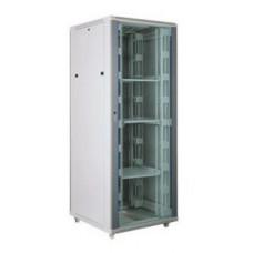 """Server case Toten A28842.8100 Шкаф 19"""" 42U,800*800*2055 серый (стекло, 2 верт.орг., блок вентиляторов) в Алматы"""