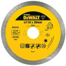 Диск отрезной алмазный DeWALT DT3715