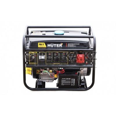 Бензиновый генератор HUTER DY8000LX-3 64/1/28