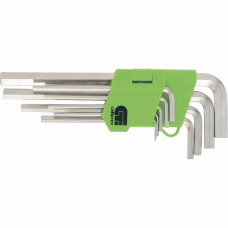 Набор ключей имбусовых HEX, 2–12 мм, 45x, СИБРТЕХ 12316 в Алматы