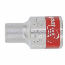 Головка торцевая, 8 мм, 12-гранная, CrV, под квадрат 1/2