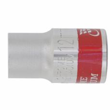 Головка торцевая, 13 мм, 12-гранная, CrV, под квадрат 1/2