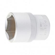 Головка торцевая, 17 мм, 6-гранная, CrV, под квадрат 1/2