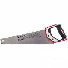 Ножовка по дереву, 400 мм, каленый зуб 3D, 7-8 TPI , трехкомпонентная рукоятка, PRO// Matrix 23580 в Алматы
