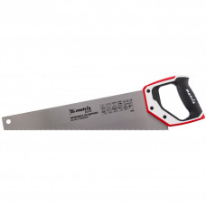 Ножовка по дереву, 450 мм, каленый зуб 3D, 11-12 TPI , трехкомпонентная рукоятка, PRO// Matrix 23583 в Алматы