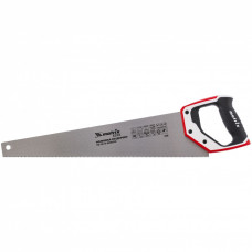Ножовка по дереву, 500 мм, каленый зуб 3D, 11-12 TPI , трехкомпонентная рукоятка, PRO// Matrix 23585 в Алматы