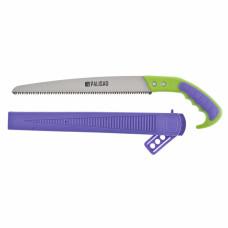 Ножовка садовая, 300 мм, 2-х компонентная рукоятка + ножны, подвес для поясного ремня PALISAD 236035 в Алматы
