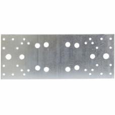 Крепежная пластина 2,5мм  KP 260x100 мм, Россия // Сибртех 464997 в Алматы