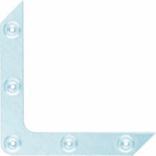 Уголок оконный, 1,2 мм, 100х100 мм, цинк// СИБРТЕХ//Россия 46515 в Алматы