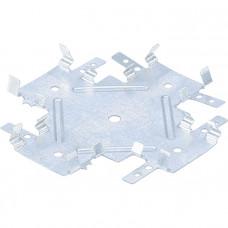 Краб соединительный для профиля KR 0,55 мм, KR 60х27 мм, цинк СИБРТЕХ Россия 46559 в Алматы