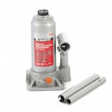 Домкрат гидравлический бутылочный, 3 т, h подъема 178-343 мм Matrix 50762 в Алматы
