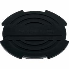 Резиновая опора для подкатного домкрата D 130 мм. MATRIX РОССИЯ 50904