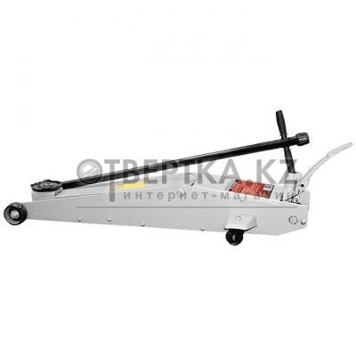 Домкрат гидравлический подкатный, 5 тонн, h подъема 150-570 мм, с переключателем режимов подъема MATRIX 510605