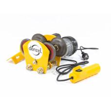 Каретка электрическая для тельфера Т-1000, 1 т, 540 Вт DENZEL 52009 в Алматы