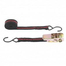 Ремень багажный с крюками, 5 м, храповой механизм Automatic SPARTA 543385 в Алматы