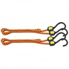 Резинки багажные, обрезиненные крюки, 2 шт, 600 мм STELS 54362 в Алматы