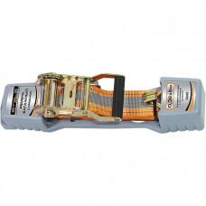 Ремень багажный с крюками, 0,038х10м, храповый механизм Automatic STELS 54366 в Алматы