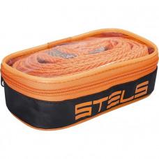 Трос буксировочный 10 тонн, 2 крюка, сумка на молнии STELS Россия 54383 в Алматы