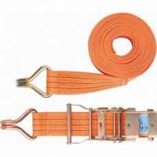 Ремень багажный с крюками, 0,05х12 м, с храповым механизмом STELS Россия 54388 в Алматы