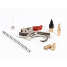 Набор продувочный пистолет, пневмат. в комплекте с насадками, 6 шт. MATRIX 57336 в Алматы