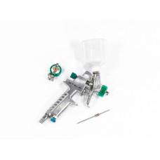 Краскораспылитель AG 810 HVLP, гравитационный, сопло 0,8 мм и 1 мм Stels 57361 в Алматы